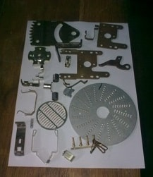 Mould-made parts